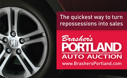 Brasher's Portland Auto Auction - The quickest way to turn repossessions into sales